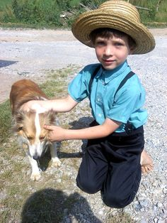 a boy and his friend....York County, PA