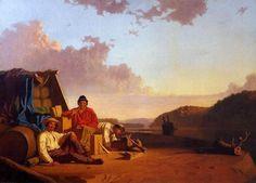 "George Caleb Bingham (1811 – 1879), ""Watching The Cargo"""