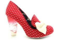 Irregular Choice Bowtiful Shoes Red Online Shopping Shoes, Shoes Online, Irregular Choice Shoes, Shoes Uk, Shoe Shop, Red And White, Choices, Heels, Collection