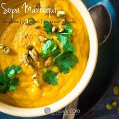 Sopa Marroqui 100% saludable: sin gluten, sin azúcar, sin lácteos, sin huevo