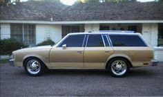 """1981 Buick Century Station Wagon. Bought this for my wife on our 10th anniversary> She loved the car especially on trips when kids could play and sleep in the """"way back""""as they called it. This car was eaten up prematurely by rust while we lived in Nova Scotia in the eighties on the coast despite my best attempts to prevent it."""