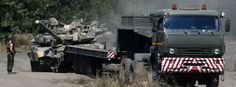 25.08.2014 - Russische Soldaten nahe der ukrainische Grenze: Welches Spiel treibt Moskau?