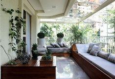 diseño moderno balcon