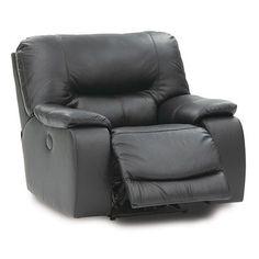 Palliser Furniture Norwood Swivel Rocker Recliner Upholstery: Bonded Leather - Champion Granite, Leather Type: Bonded Leather - Champion Khaki