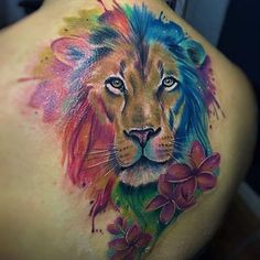 110 Best Lion Tattoo Collection of 2018 - Wild Tattoo Art