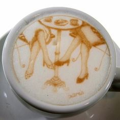 Personalise your Coffee with Images and Text. See more art and information about Ripples, Press the Image.