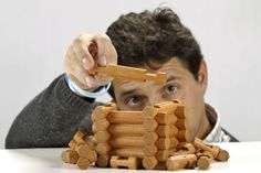 Lincoln logs, Lincoln and Logs on Pinterest