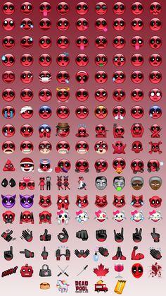 Direttamente da Deadpool, gli emoji per chi vuole sentirsi un mercenario squilibrato