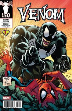 Venom #150 (2017) Legends Comics and Games Fresno Exclusive Variant Cover by Todd Nauck
