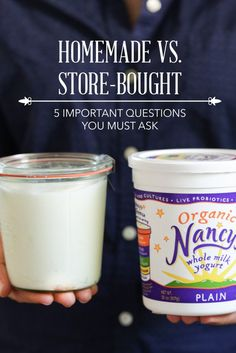 Homemade vs. Store-Bought: 5 Important Questions You Must Ask - Live Simply