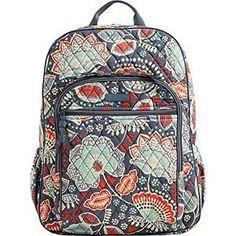 86d1f02f90 Vera Bradley Campus Backpack (Nomadic Floral)