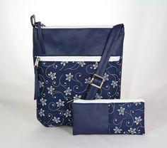 Kabelky - kabelka Molly Bohemian modrá - 6605716_