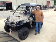 Thanks to Joel Votaw from New Hebron MS for getting a 2015 CanAm Commander XT 800 at Hattiesburg Cycles