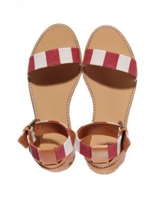 Designer : Castaner Xenia Stripe #Sandal