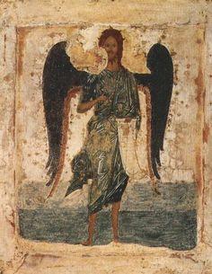 Иоанн Предтеча Ангел пустыни. Первая половина XVI в.