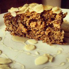 Almás-zabpelyhes süti (glutén-,tej- és cukormentes) - Recept | Femina Krispie Treats, Rice Krispies, Tej, Vegan Recipes, Vegan Food, Paleo, Gluten, Cukor, Healthy