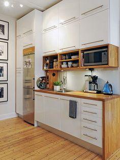 закрытые навесные шкафы для кухни