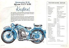 Die BMW R35 wurde bis zum Prozeß 1950 in Eisenbach gebaut
