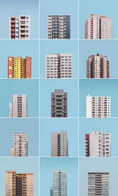 """""""Stacked"""" is a photo project by Malte Brandenburg about the large post-war housing estates in Berlin. - Architecture Designs """"Stacked"""" is a photo project by Malte Brandenburg about the large post-war housing estates in Berlin. Baroque Architecture, Architecture Bauhaus, Interior Architecture, Minimalist Architecture, Design Interior, Ideas Paneles, Architecture Religieuse, Design Bauhaus, Bg Design"""