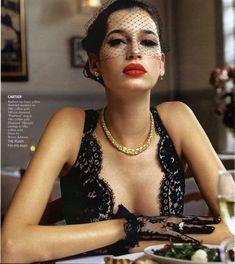 """"""" Italian widow moment in Cartier """" Kenza Fourati   <3"""