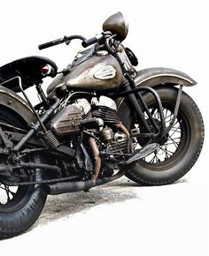 Great photo of Vintage Harley Davidson bullet. Amazing ‎#photography !! on.fb.me/1a11BNr. Nice.
