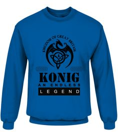 THE LEGEND OF THE ' KONIG '  Funny Name Starting with K T-shirt, Best Name Starting with K T-shirt, my name t shirt, name t shirts for women, custom name shirt, t shirt with name, name shirt kids, name shirts for men