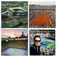 Seeing all four tennis Grand Slams in person.  √US Open