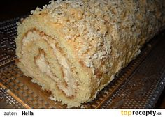 Medová roláda - My site Czech Recipes, Russian Recipes, Eastern European Recipes, Desert Recipes, Graham Crackers, Food Hacks, Sugar Free, Banana Bread, Sweet Tooth