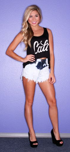 Sunkissed Beauty Cali in Black   $22.00