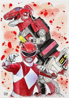 ArtStation - Red Ranger, Diego Gon