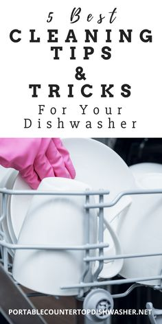 In this article you will learn five of the best cleaning tips and tricks dishwasher to keep your countertop dishwasher running at its full potential. Countertop Dishwasher, Dishwasher Detergent, Countertops, Portable Dishwasher, Professional Cleaning, Small Appliances, Cleaning Hacks, Dorm, College