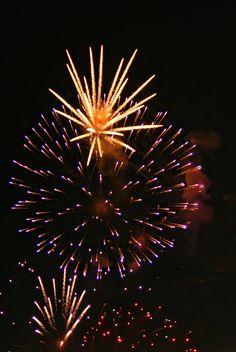 Do you watch #fireworks on #Canada #Day?