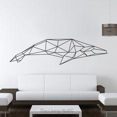 Baleine géométrique mur autocollant, Stickers animaux géométriques, baleine Home Decor Stickers muraux, Stickers muraux Vinyl géométrique par LivingWall sur Etsy https://www.etsy.com/fr/listing/254604331/baleine-geometrique-mur-autocollant