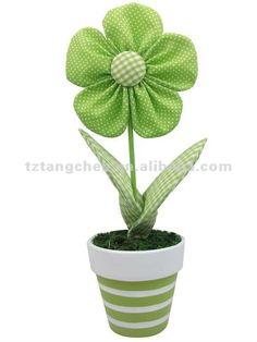 tela de pascua de flores de la planta en maceta-Otros artículos para las fiestas-Identificación del producto:583602755-spanish.alibaba.com