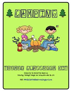 Littlest Learners / Clutter-Free Classroom Blog: A Camping We Will Go