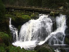 Triberg, Germany – Largest Waterfall in Germany just so happens to be in Schwarzwald.