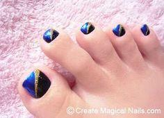 1000 images about decorado de u as de pies on pinterest - Modelos de unas pintadas ...
