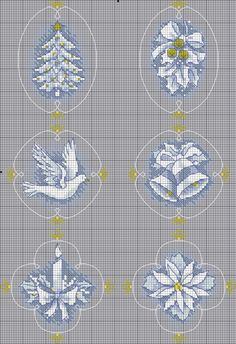 19 ideas for embroidery patterns small free crochet Cross Stitch Christmas Ornaments, Xmas Cross Stitch, Cross Stitch Cards, Christmas Embroidery, Christmas Cross, Counted Cross Stitch Patterns, Cross Stitch Designs, Cross Stitching, Cross Stitch Embroidery