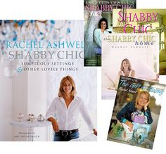 Rachel Ashwell's books