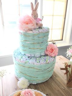 Diaper Cake #DecorByDesign26