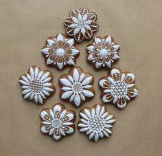 Well I don't know what exactly is this so I'm just gonna pin it to the Arts board coz it's so beautiful and intricate Fancy Cookies, Iced Cookies, Biscuit Cookies, Cute Cookies, Cupcake Cookies, Christmas Cookies, Christmas Sweets, Christmas Gingerbread, Christmas Baking