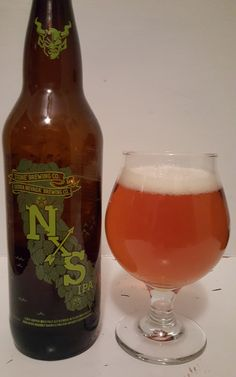 NxS ADIIPA, 8.25 ABV and 70 IBU is a Stone / Sierra Nevada collab using gin infused and rye infused bourbon barrel batches with a third fresh IPA portion in the blend. The nose and palate are fresh and herbaceous hop and sweet malt with those layers of sticky boozy complexity underneath. The middling ABV level and the moderate mouthfeel make this ultimately drinkable. It's a wonderful collaboration and one to have for any craft beer enthusiast.
