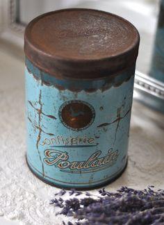 Vintage chic: Gamle, franske bokser/ old, French boxes