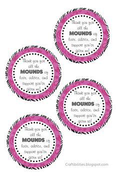 Thank your for all the MOUNDS of ... tags