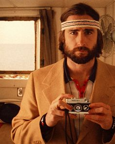 Luke Wilson as Richie in the Royal Tennenbaums... love this character.