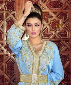 Moroccan Bride, Moroccan Caftan, Brown Girl, Swag Style, Muslim Fashion, Marie, Bollywood, African, Caftans