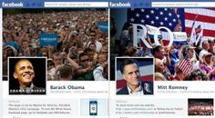 Las páginas de ambos candidatos enfrentadas en una sola imagen.