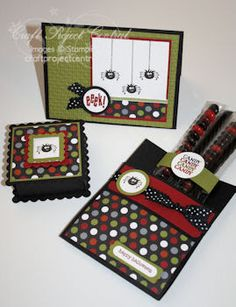 Stuck on Stampin': Frightful Sight...my own creation on CPC (and a GIVEAWAY!)