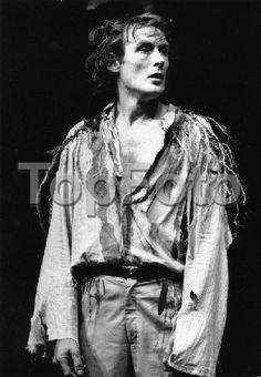 Bill Nighy as Edgar in King Lear.