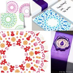 If It's Hip, It's Here: Holiday Kaleidoscope Cards For The Luxe Project Are Both Beautiful and Beneficial.